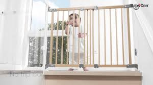 Baby Gates For Stairs No Drilling Babydan Super Flexifit Safety Gate Youtube
