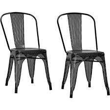 Outdoor Metal Dining Chairs Dorel Home Products Nova Metal Mesh Dining Chair Set Of 2