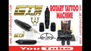 rotativa gt5 pen tattoo de ava video tutorial de akira body art