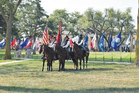 All 50 Flags Fort Riley 9 11 Ceremony Remembers Those Lost Honors Those Still