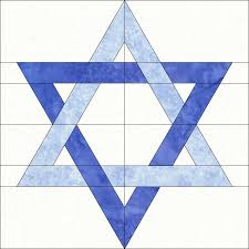 star of david traditional colors minták block pinterest