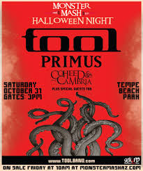halloween songs youtube monster mash tool announce halloween concert as first live performance of 2015