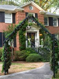 fashion a diy christmas topiary from basic tomato cage tree for