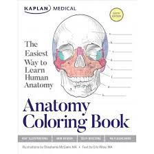 Human Anatomy Flashcards Kaplan Anatomy Coloring Book The Easiest Way To Learn Human