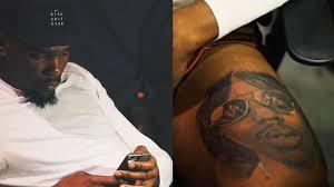 chris brown leg tattoo kevin durant just got a massive tattoo of rick james youtube