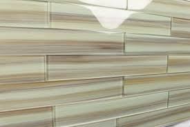tan taupe 2x12 hand painted subway glass tile kitchen for