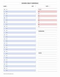 daily planner template word printable online calendar