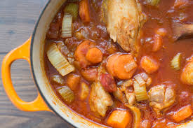 chicken stew with vegetables oven or slow cooker