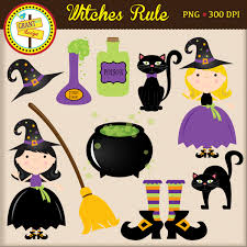 halloween coldren background cute witch cauldron clipart clipground