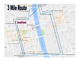 Map Run Route by Des Moines Ymca Red Flannel Run Ymca Of Greater Des Moines