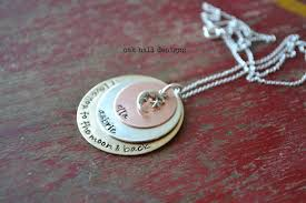 Stamped Jewelry The Farmer U0027s Nest Oak Hill Designs Hand Stamped Jewelry Giveaway