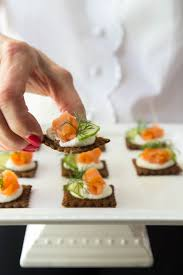canape mousse goat cheese mousse and smoked salmon canapés the café sucre farine