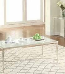 coaster company satin nickel coffee table end table satin nickel end tables 703347 coaster furniture