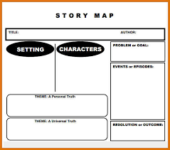 story map template basic story map template for kindergarten 10