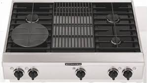 Kitchen Aid Gas Grill by Kitchenaid Kgcp462kss 36