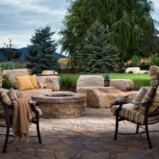 Round Brick Fire Pit Design - photos hgtv