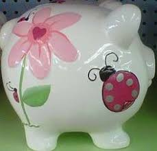 Keepsake Piggy Bank Love This White Polka Dot Bow Piggy Bank By Beriwinkle On Zulily
