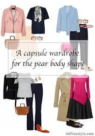 capsule wardrobe for the pear body shape 40plusstyle com
