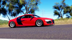 audi r8 slammed thejockobo photo gallery forzatography forza motorsport forums