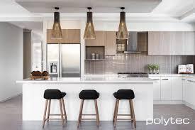 overhead kitchen lighting melamine doors in classic white sheen melamine overhead cupboards