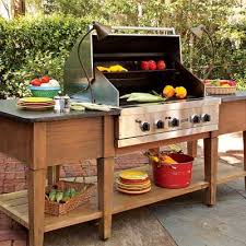 kitchen island grill cook up a great outdoor kitchen cooking utensils utensils and teak