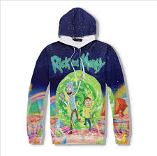 aliexpress com buy novelty men u0027s rick and morty print hoodies