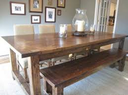 Pottery Barn Dining Room Sets Pottery Barn Farmhouse Table Distressed Extending Dining Table