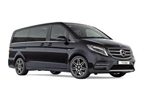 luxury minivan mercedes norev 183486 mercedes benz v class amg line 2017