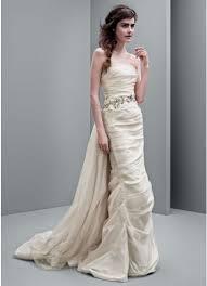 column wedding dresses white by vera wang taffeta column wedding dress david s bridal
