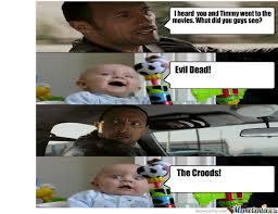 Evil Dead Meme - evil dead was awesome go see it by jack kroll 376 meme center