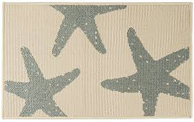 bacova accent rugs bacova starfish accent rug one size