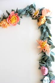 floral garland how to make the most beautiful felt flower garland