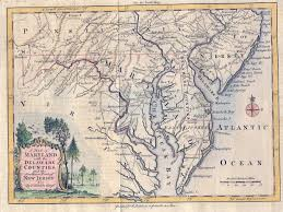 me a map of maryland map of colonial maryland thinglink
