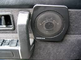 volvo 240 stereo system install upgrade speakers photos