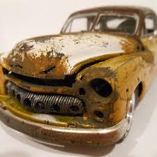 car junkyard malaysia classic wrecks hand made junker car art by classicwrecks on etsy