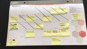 Wall Calendar Organizer System 2017 Inkwell Press Desk Pad Wall Calendar Review Youtube