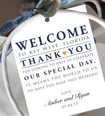 hotel welcome bags set of 10 gift tags for wedding hotel welcome bag destination