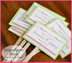 Simple Wedding Shower Decorations
