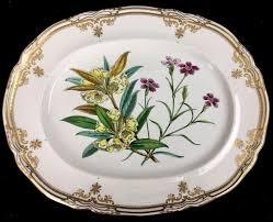 spode stafford flowers bone china porcelain large oval serving