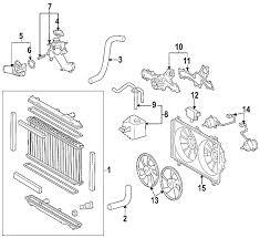 lexus gs300 parts diagram parts com lexus gs300 radiator oem parts