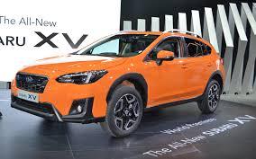 subaru orange 2018 subaru crosstrek revealed in geneva the car guide