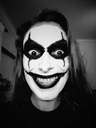 halloween makeup smile black joker halloween makeup my makeup pinterest black joker