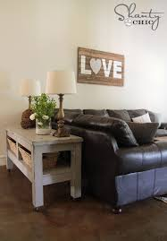 Pottery Barn Sofa Tables by Check Out My 80 Pottery Barn Inspired Console Table Shanty 2 Chic