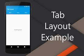 android layout tab layout exle android droidtuts4you