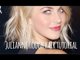 how does julienne hough style her hair julianne hough short hair tutorial youtube