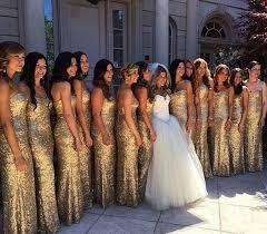 chagne bridesmaid dresses gold sequins bridesmaid dress plus size wedding party dress