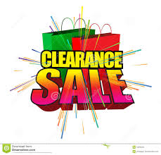 clearance sale stock images image 10598264