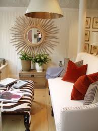 Living Room Decor Mirrors 30 Exceptional Ideas For Decorating With A Sunburst Mirror