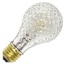 faceted light bulb sylvania decor light bulb and