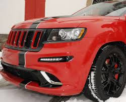 jeep grand cherokee modified jeep reveals ferrari themed 2012 grand cherokee srt8 for alonso